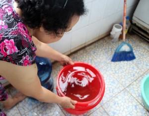 ô nhiễm nước ngầm và nước máy