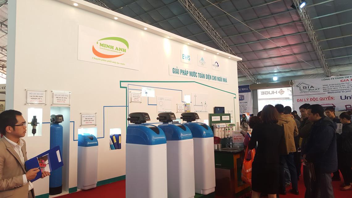 Giải pháp lọc nước EWS tại hội chợ Quốc tế Vietbuild 2016