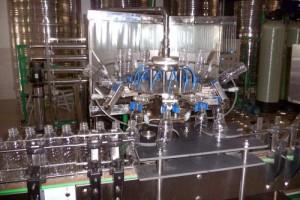 Dây chuyền sản xuất nước uống đóng chai