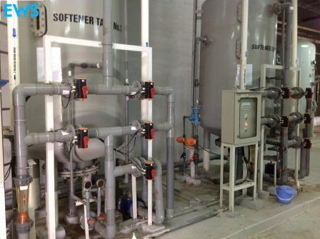 Hệ thống làm mềm nước công nghiệp