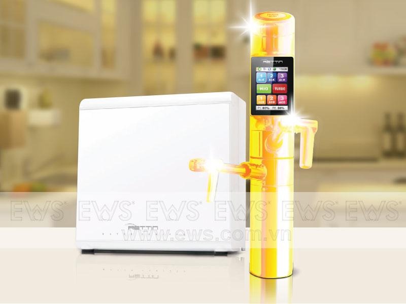 Máy nước ion kiềm dát vàng