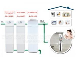 Hệ thống lọc tổng giải quyết những vấn đề khó khăn đối với nguồn nước sinh hoạt
